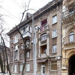 Wohnhaus der PI-3-Mitarbeiter. Marazlijewskaja-Straße 6