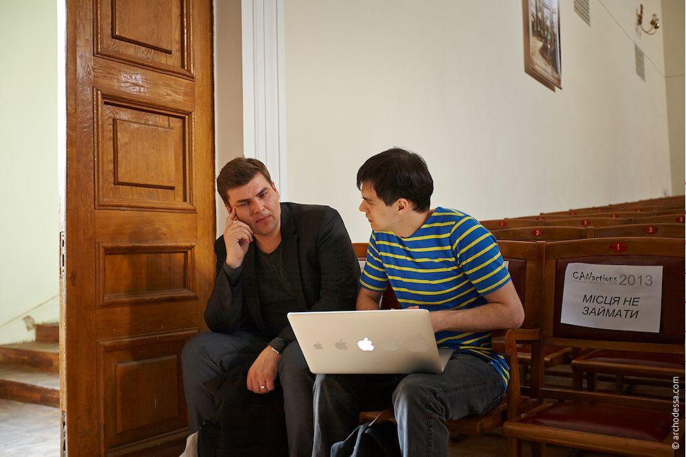 Teemu Hirvilammi обсуждает архитектуру Одессы на CANactions 2013