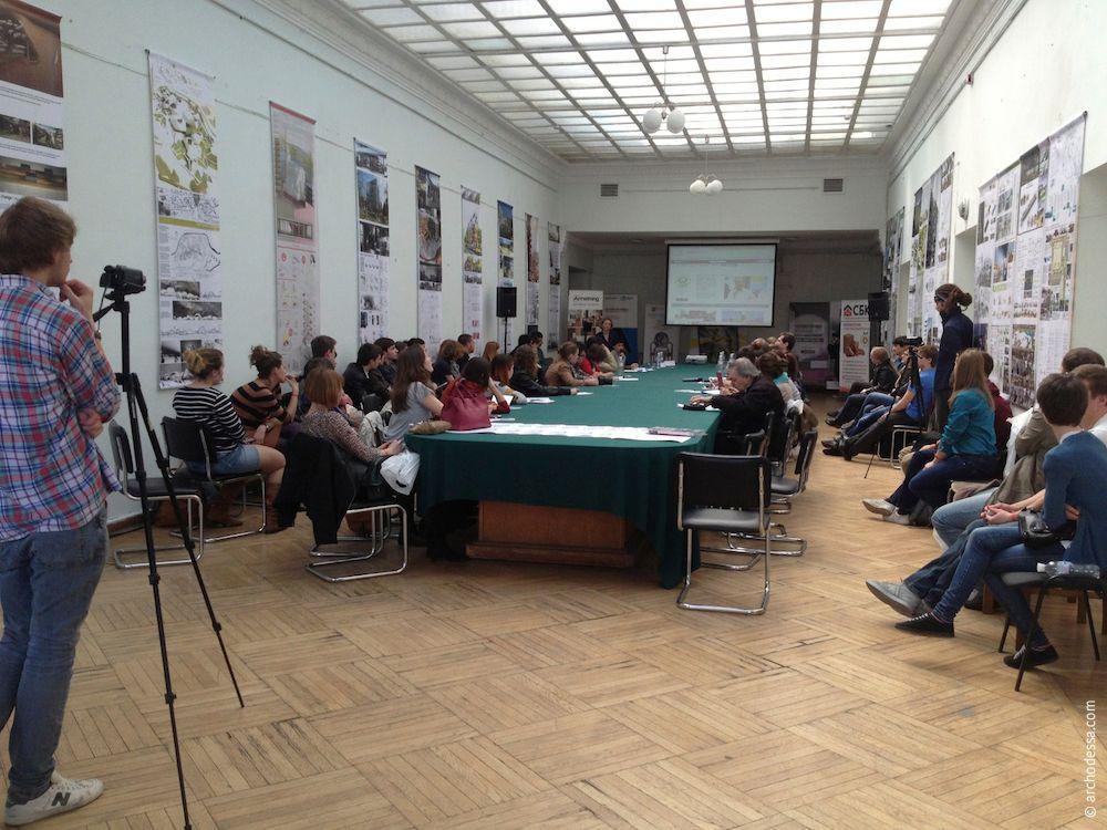 Архитектура Одессы на CANactions 2013 в Киеве