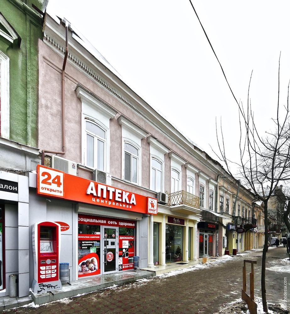 Архітектура Одеси. Олександрівський проспект, 5