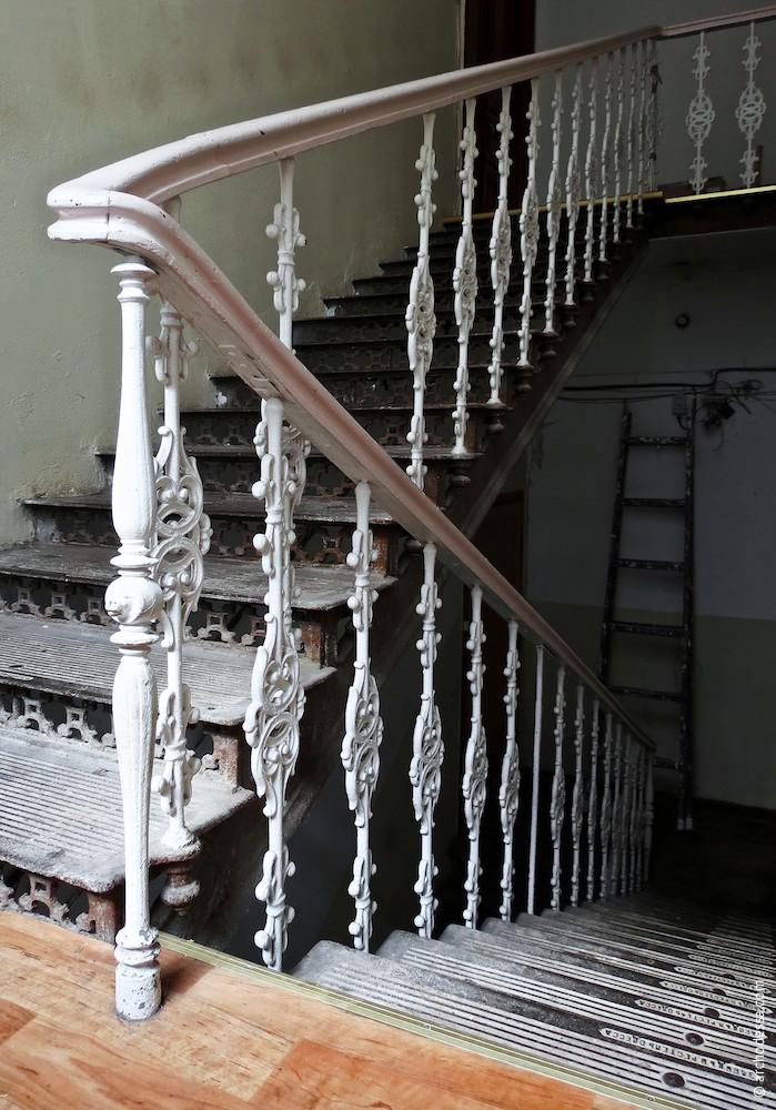 Treppengeländer, Gesamtansicht