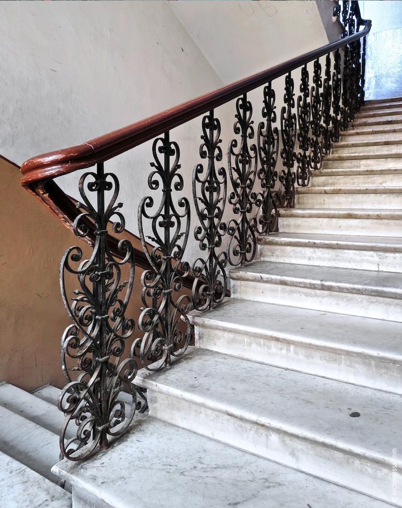 Treppenlauf, Gesamtansicht