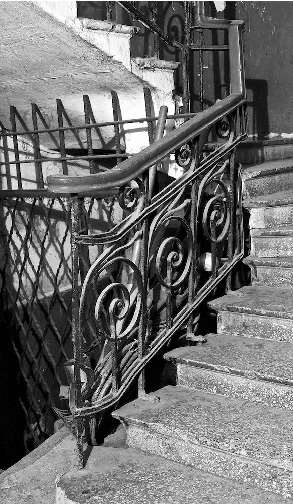 Treppenlaufgeländer, Eingangsbereich