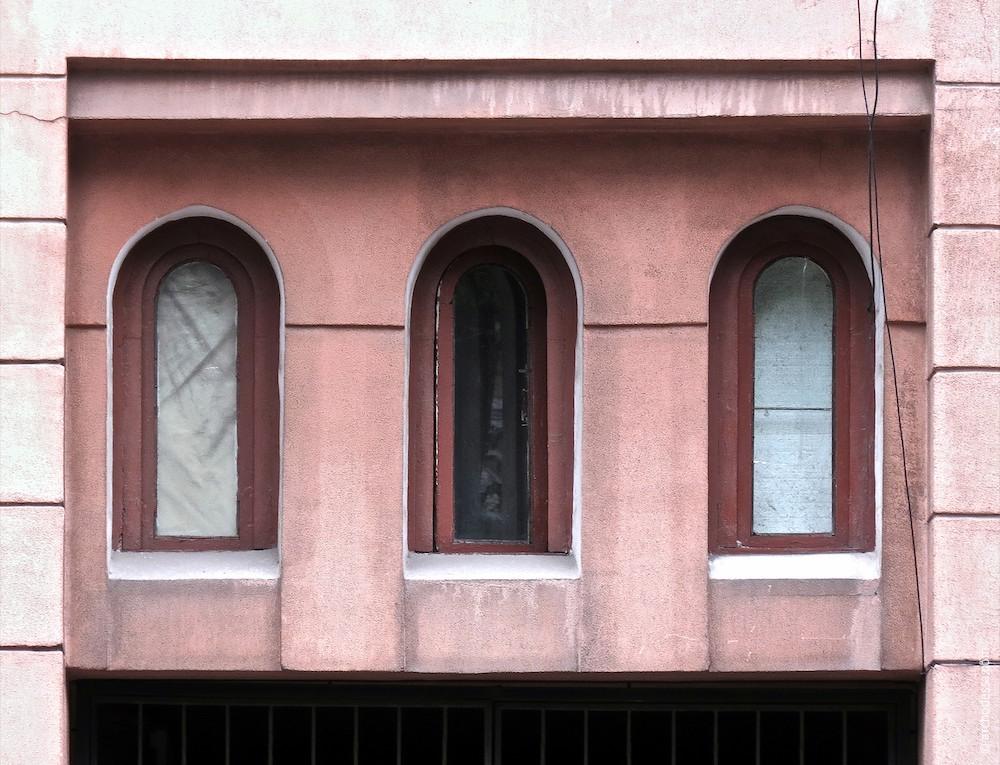 Fenster des Straßenwärterzimmers