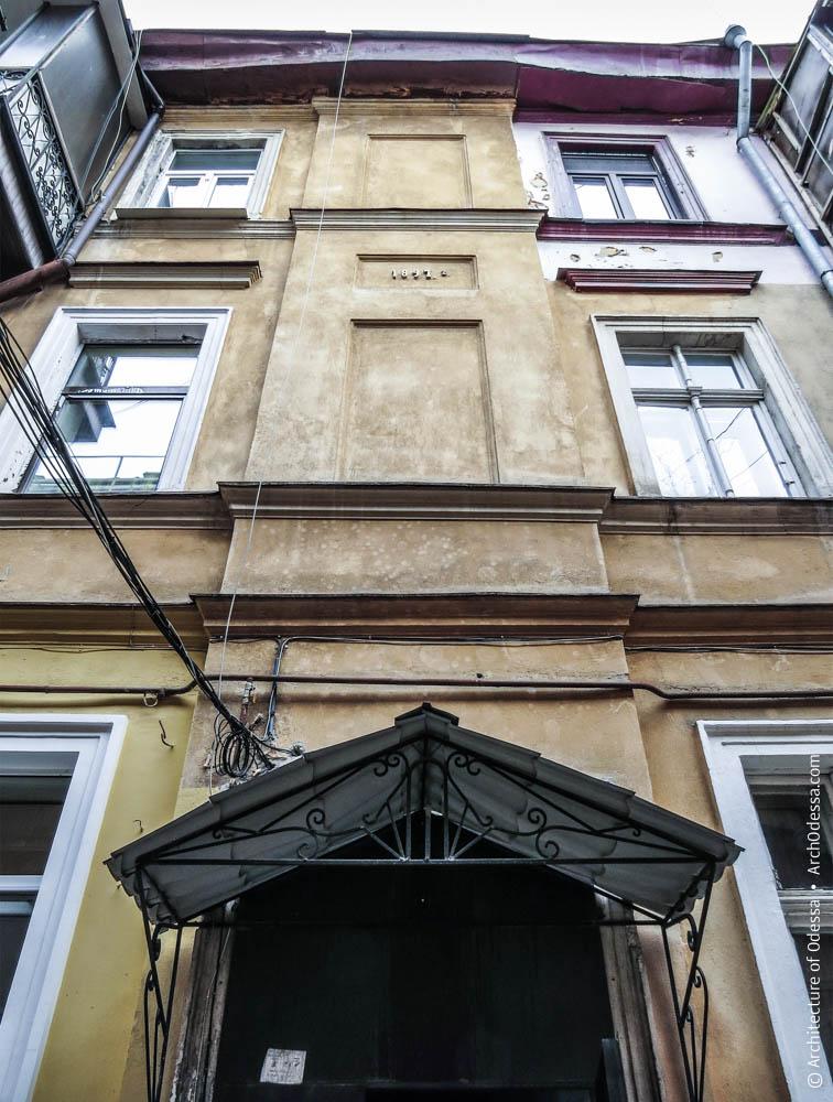 Фрагмент фасадной плоскости
