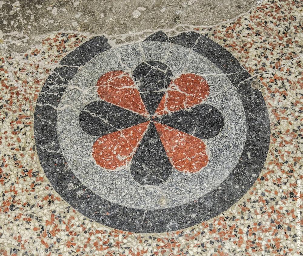 Бетоно-мозаїчний візерунок