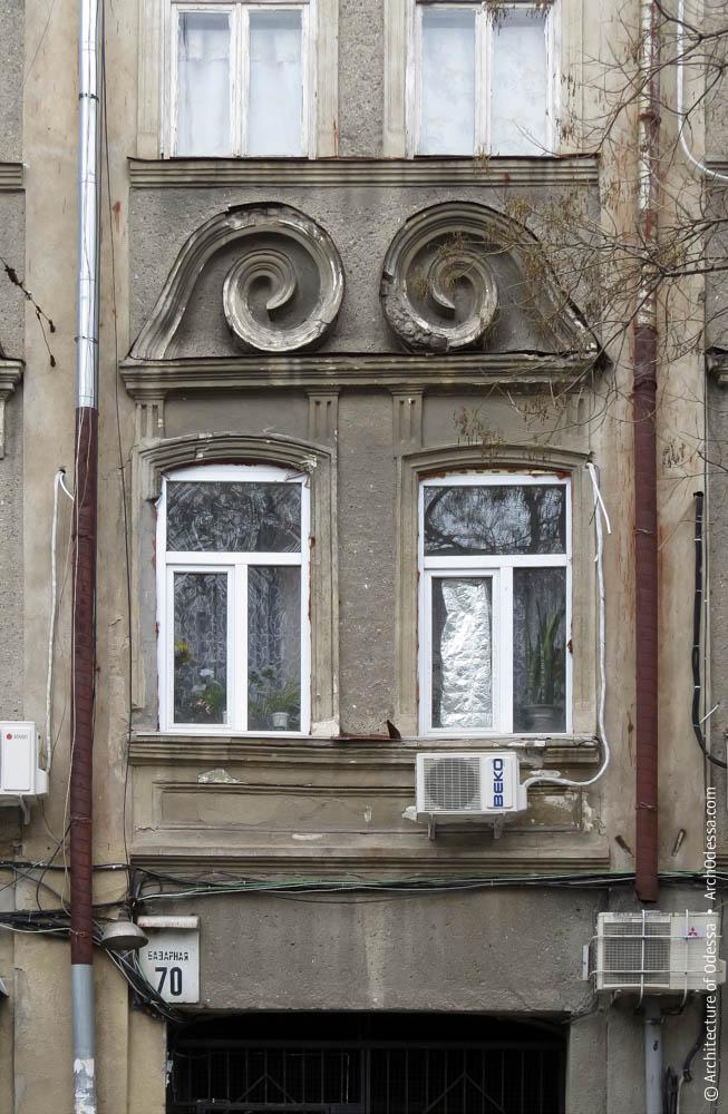 Окна центральной оси