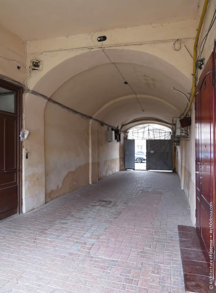 Входные двери галерей