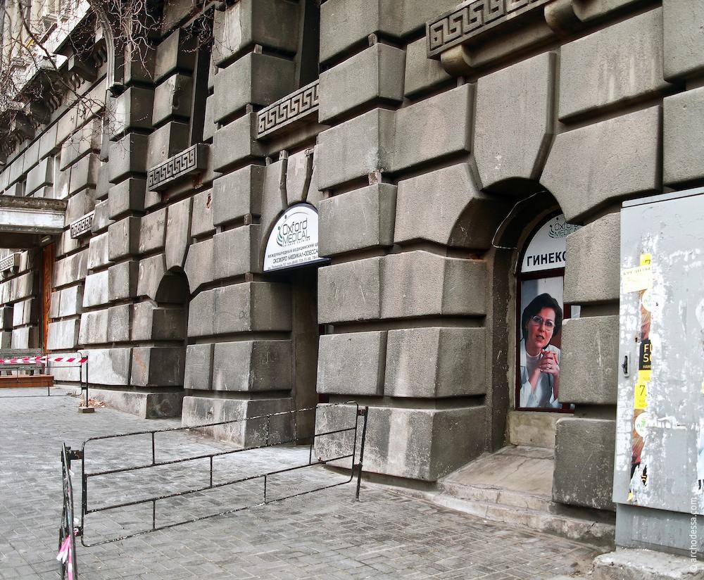 Руст первого этажа (по Бунина)