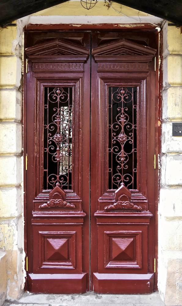 Общий вид двери
