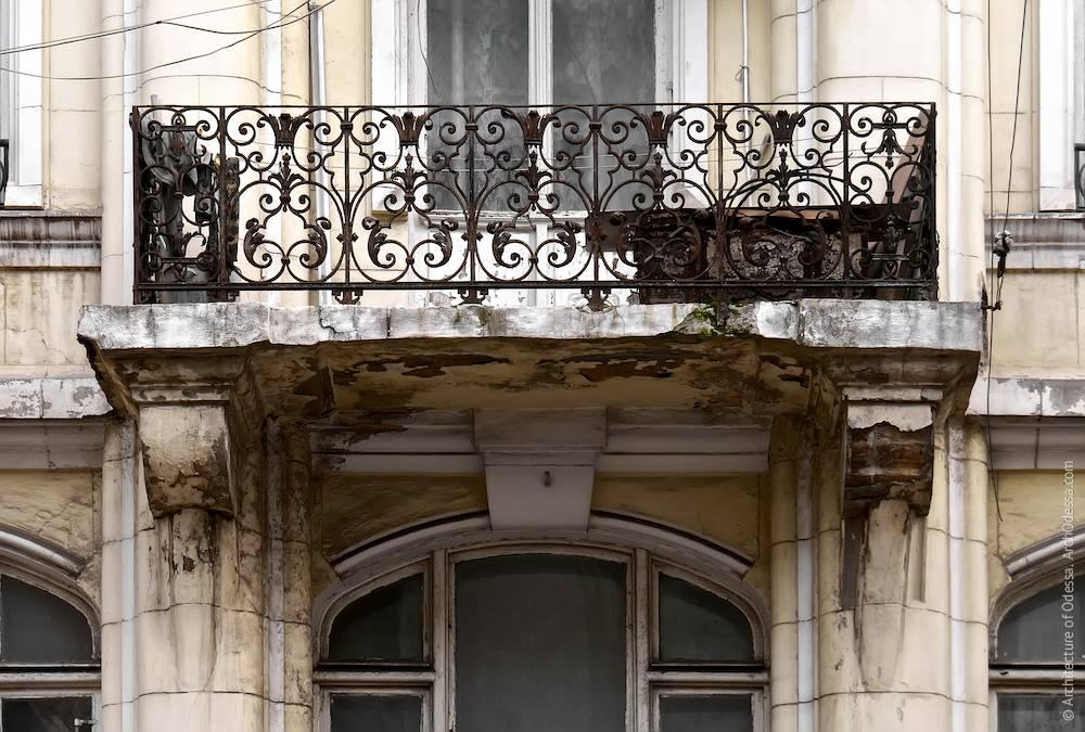 Загальний вигляд одного з балконів