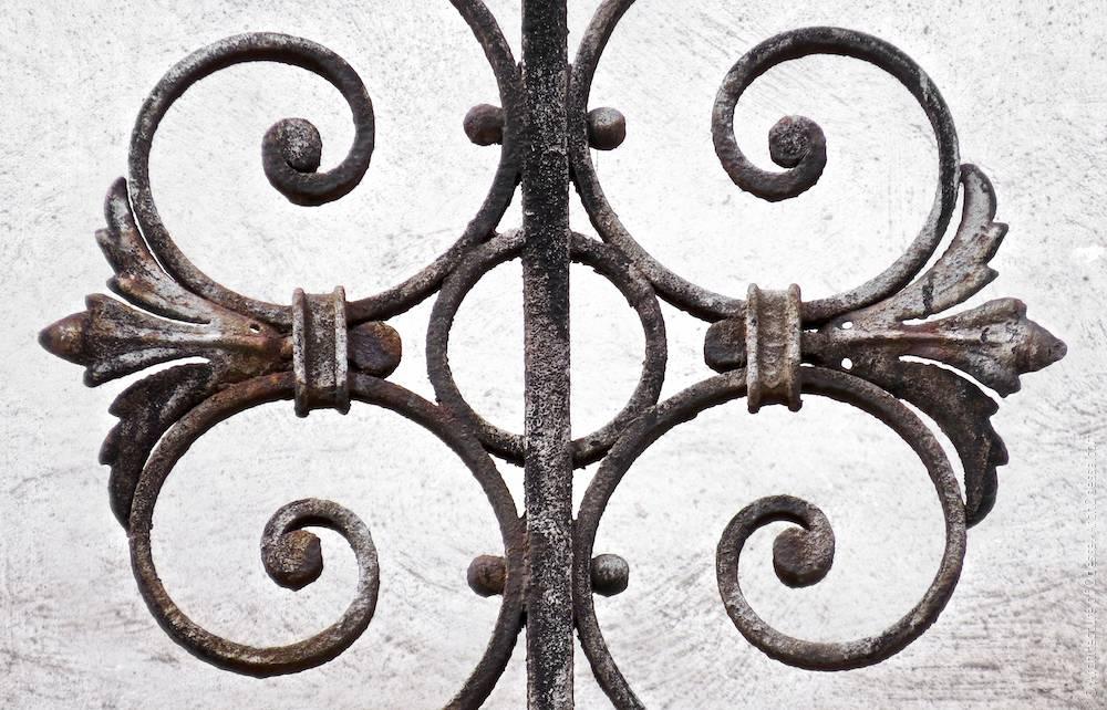 Деталь балконного огородження