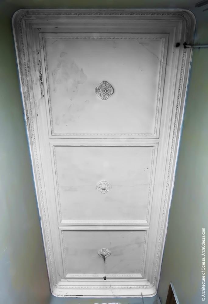 Стеля сходової клітки, загальний вигляд