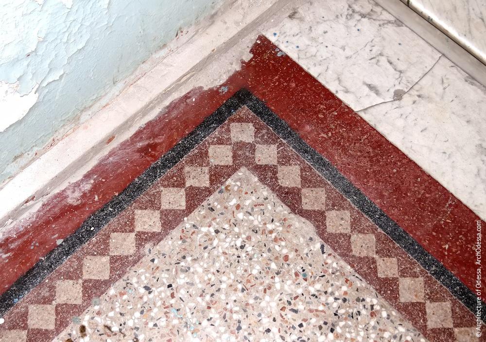 Бетоно-мозаїка, фрагмент