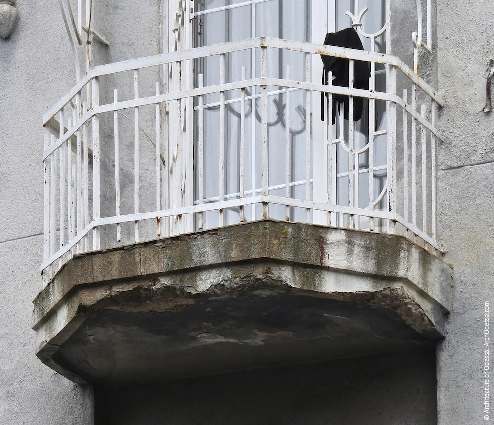 Балкон третього поверху