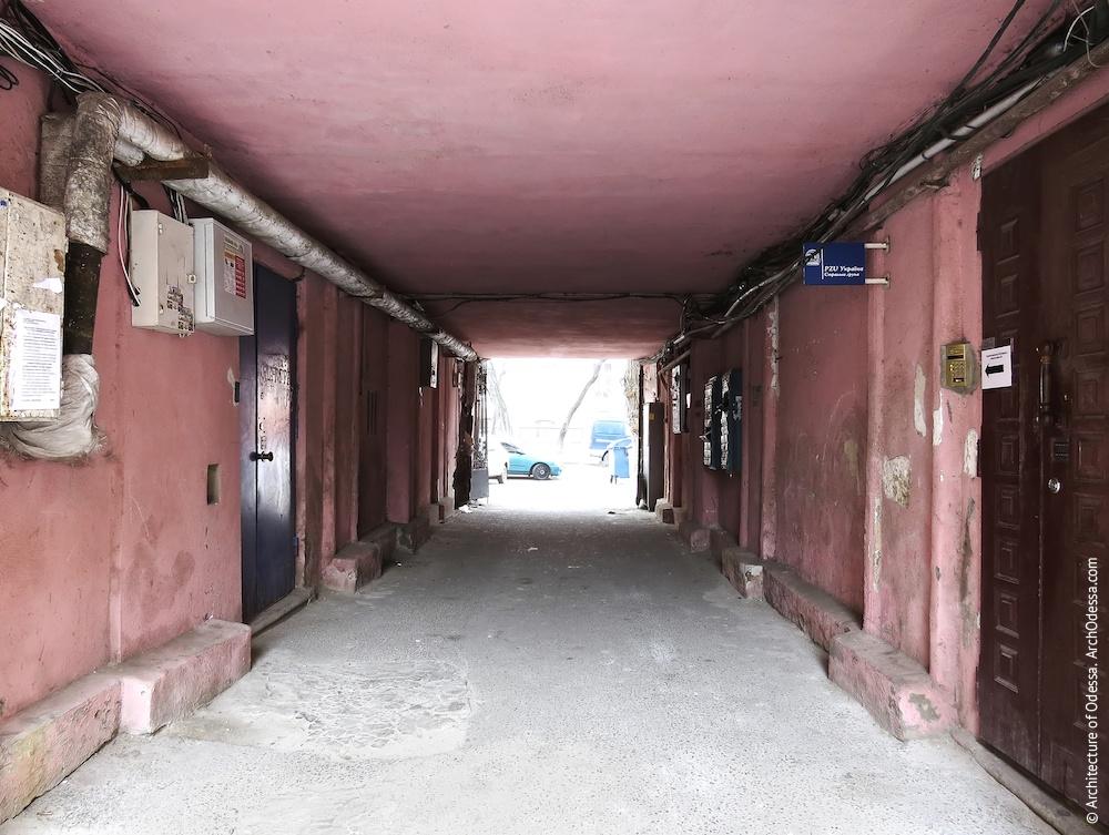 Внутренний вид арки