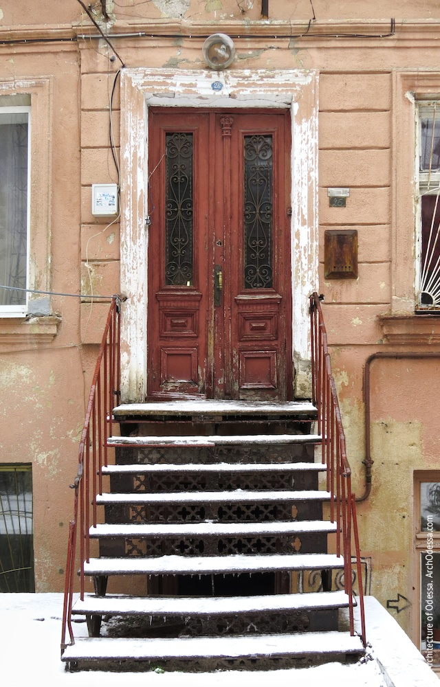 Заднее крыло, дверь и веранда