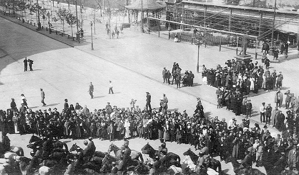 Демонстрация 1 мая 1917 году в Одессе