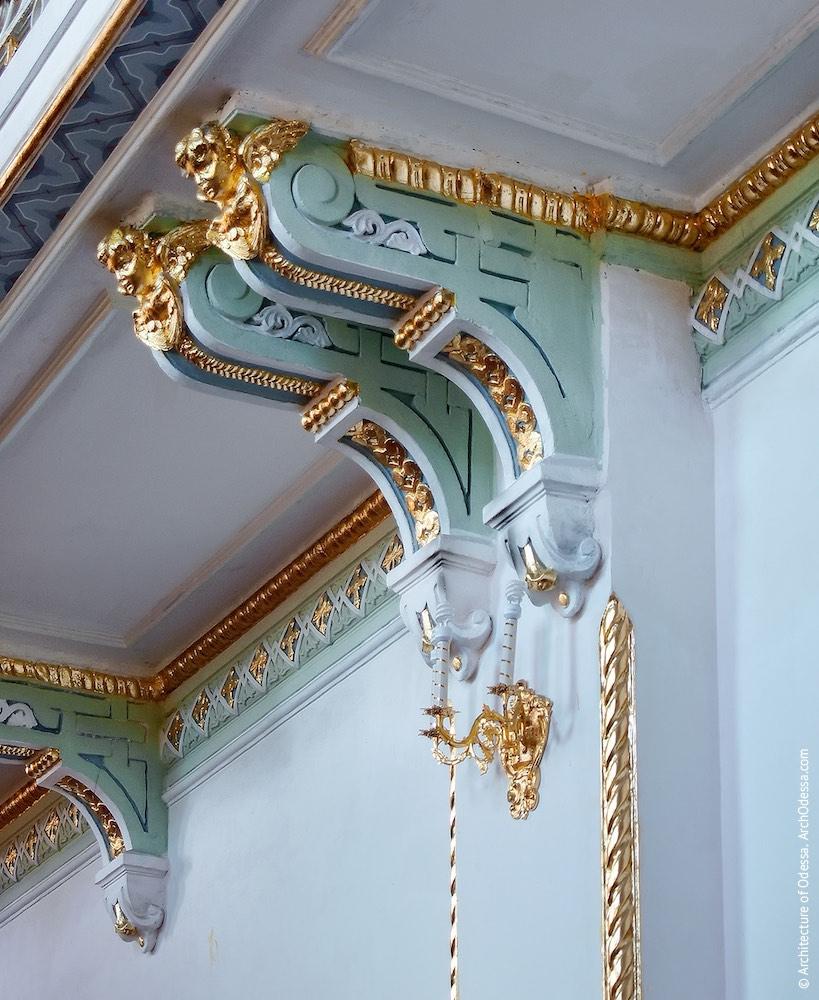 Консоли балкона
