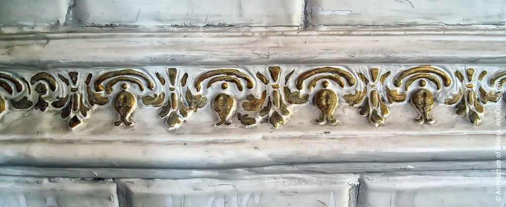 Печь, фрагмент декора