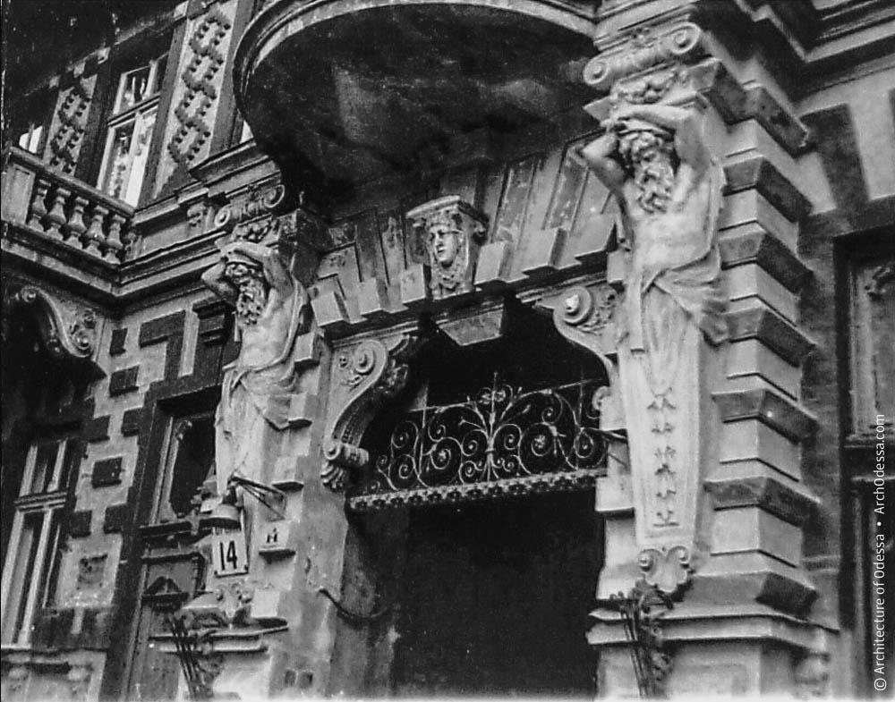 Верхний ярус портала арки