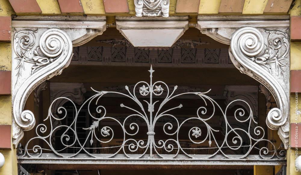 Фрамуга ворот и консоли