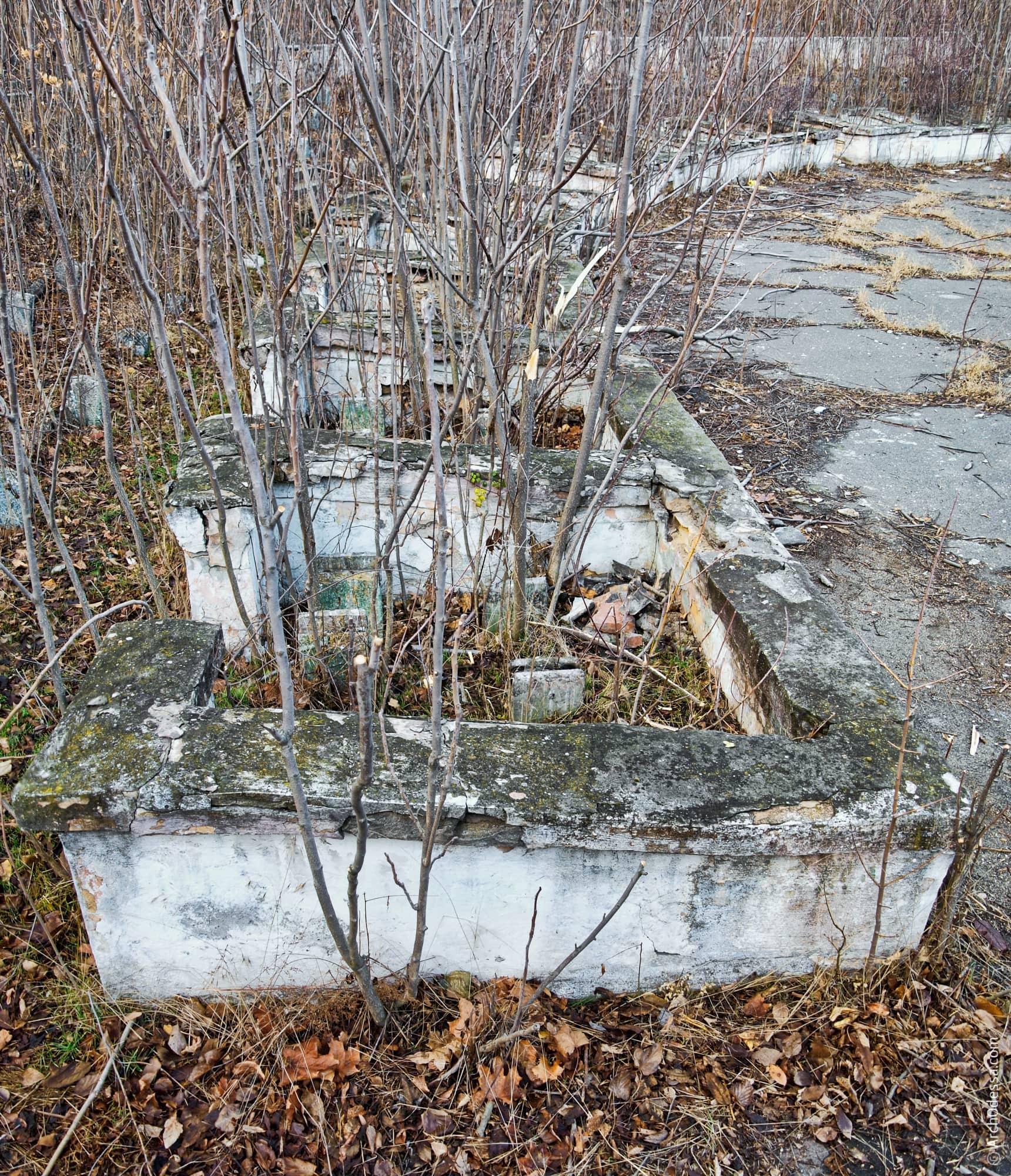 Фрагмент нижнього ярусу (фото кінця 2012 року)