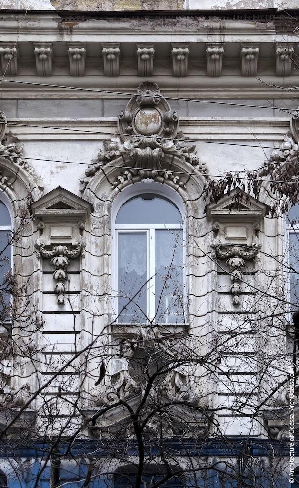 Окно и простенки, общий вид