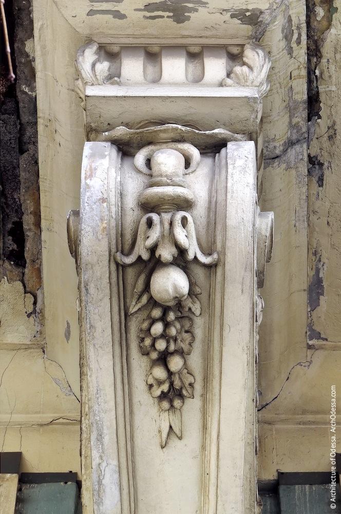 Декор верхней части консоли