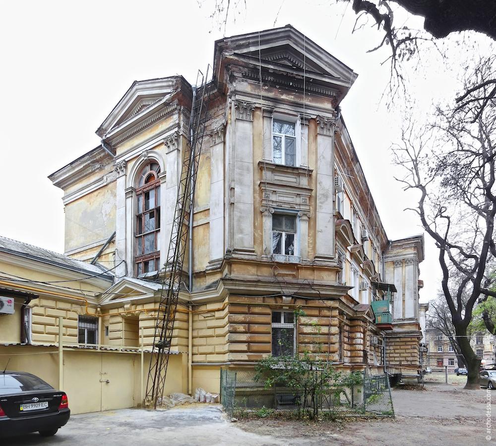 Architecture of Odessa. 81, Kanatnaya Street