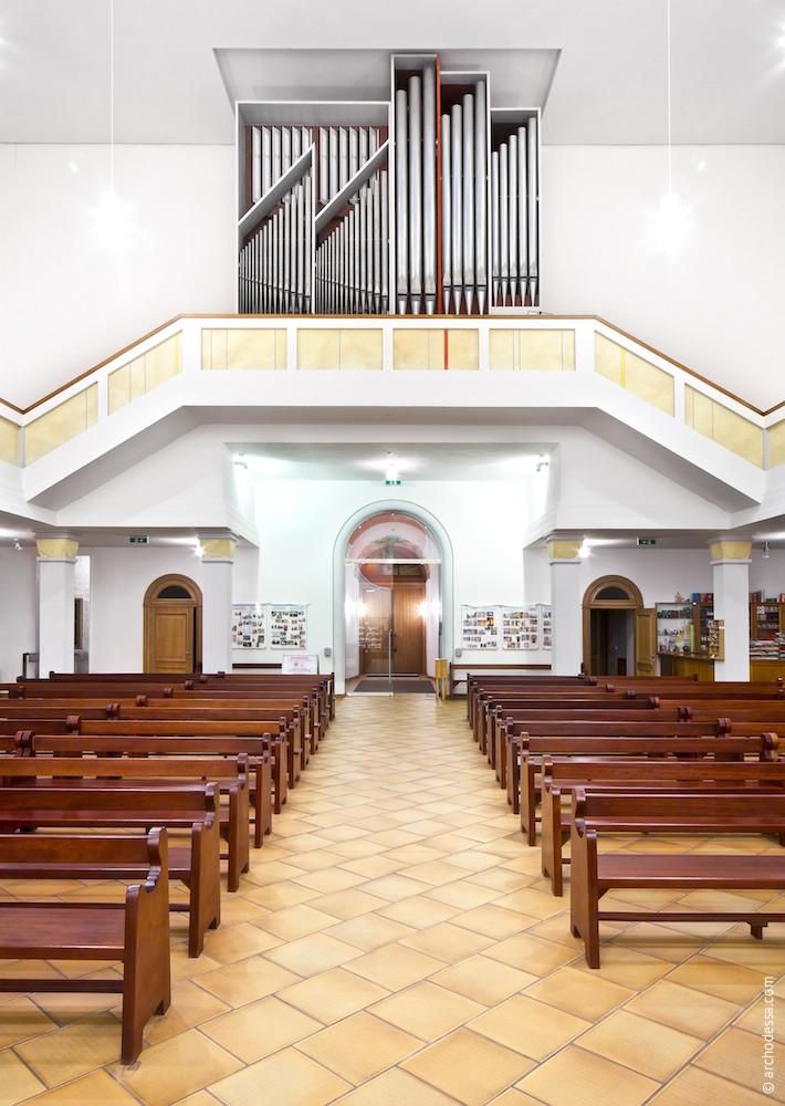 Organ and choir