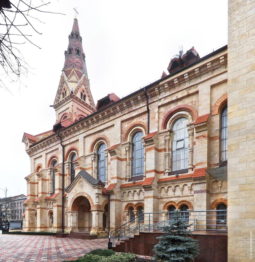 Lutheran Church in Odessa. German church.