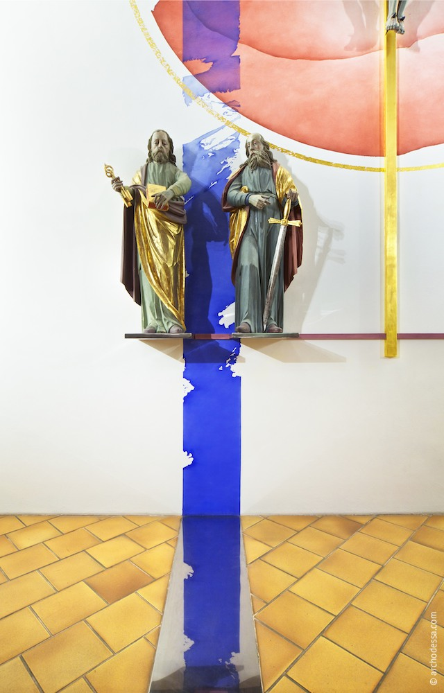 Sculptures of the Apostles St. Peter and St. Paul