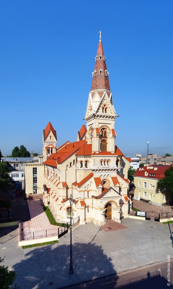 Lutheran Church in Odessa. German church