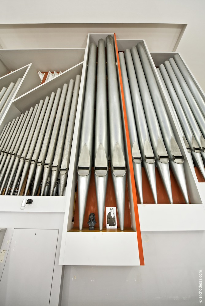 A view of the organ from the choir