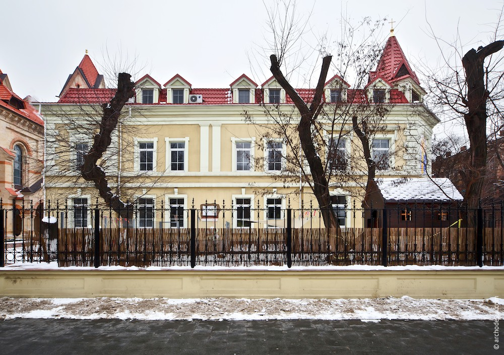 Фасад по Новосельского