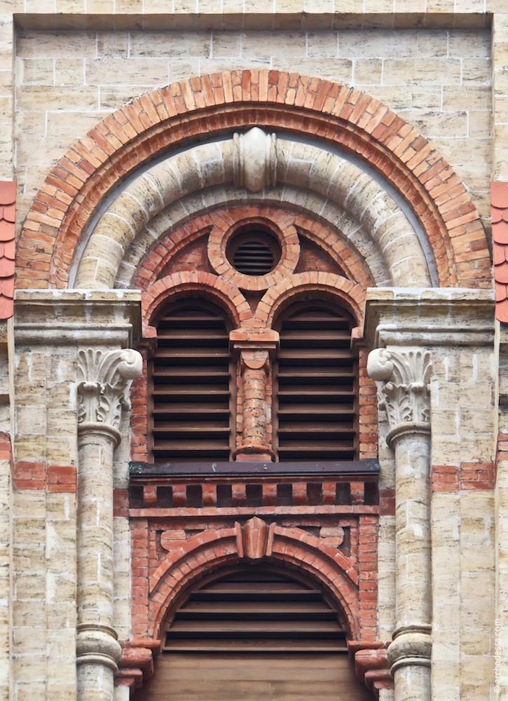 Upper tier window