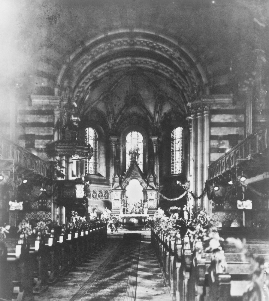 A view of the altar