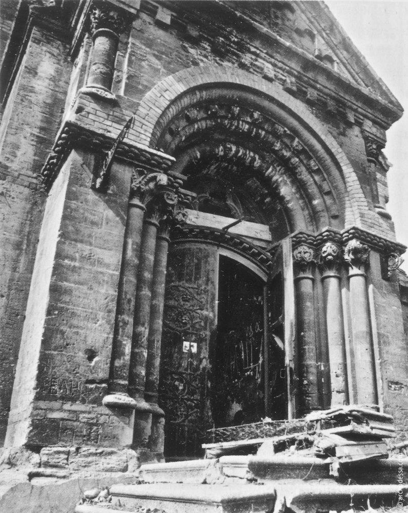 Портал главного входа, 1978 год
