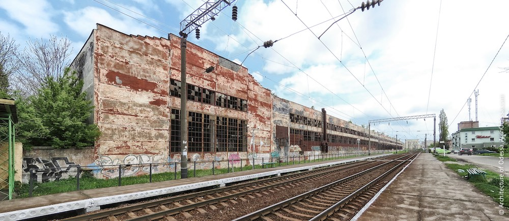 Краян. Цеха покраски и металлоконструкций. Архитектура Одессы