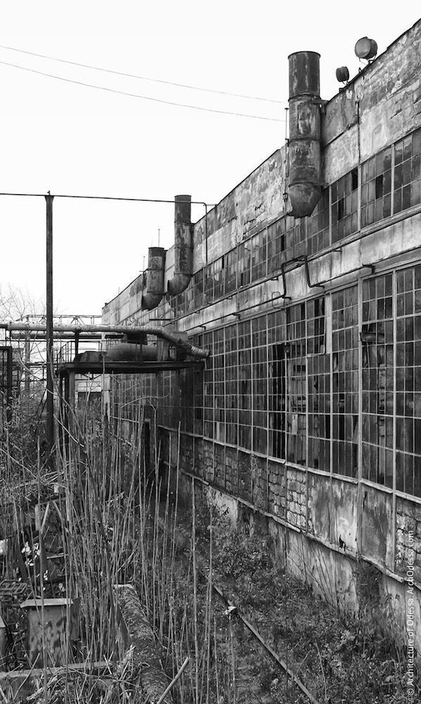Фрагмент тильного фасаду. Фото 2009 р.