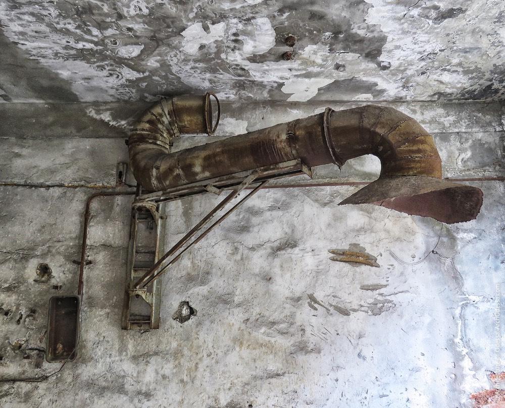 Лівобічний корпус, залишки вентиляційних систем