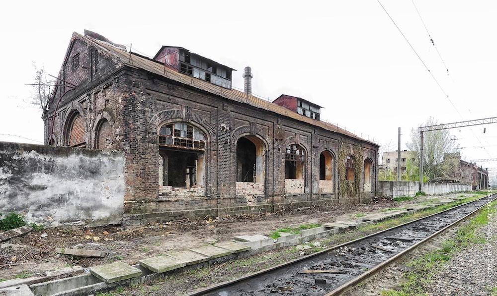 Краян. Инструментальные цеха и санузлы. Архитектура Одессы