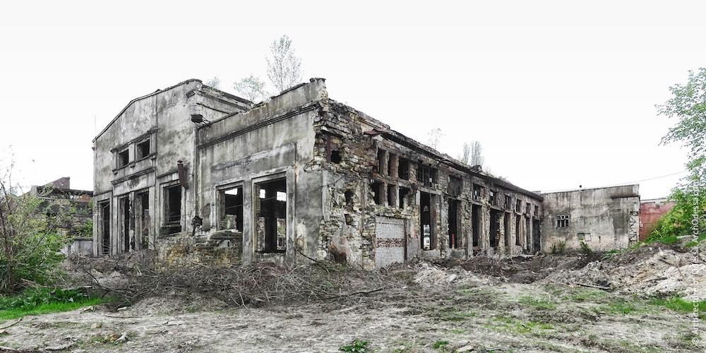 Краян. Новый литейный и кузнечно-прессовый цеха. Архитектура Одессы