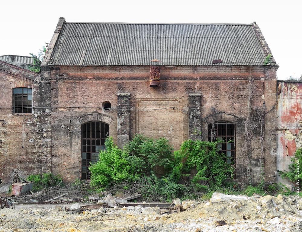Старий правобічний цех, загальний вигляд з боку ковальсько-ливарних майстерень