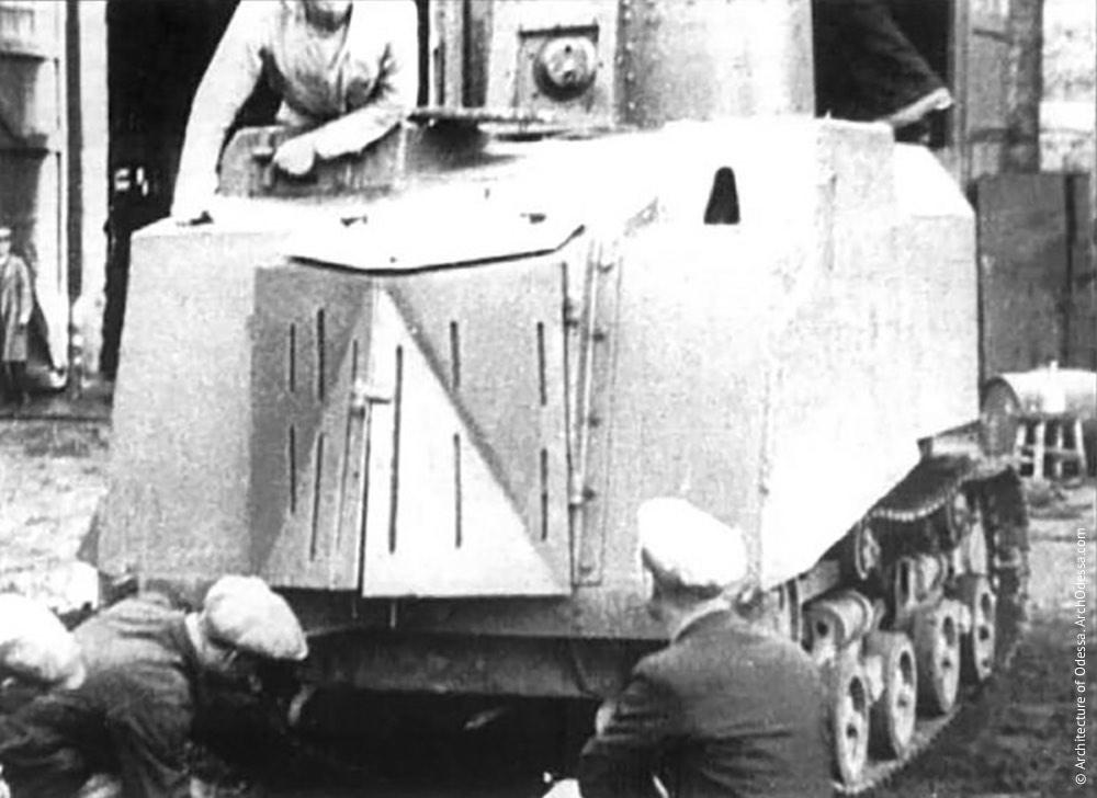 Сборка танка «На испуг», 20 августа 1941 г.