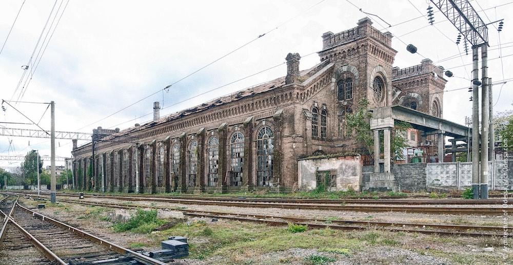 Загальний вигляд з боку станції Одеса-Товарна, фото 2011 р.