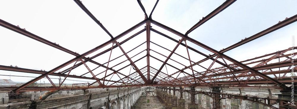 Каркас перекриттів даху