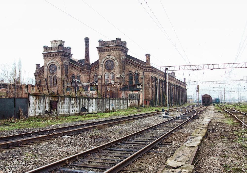 Загальний вигляд з боку станції Одеса-Мала, фото 2009 р.