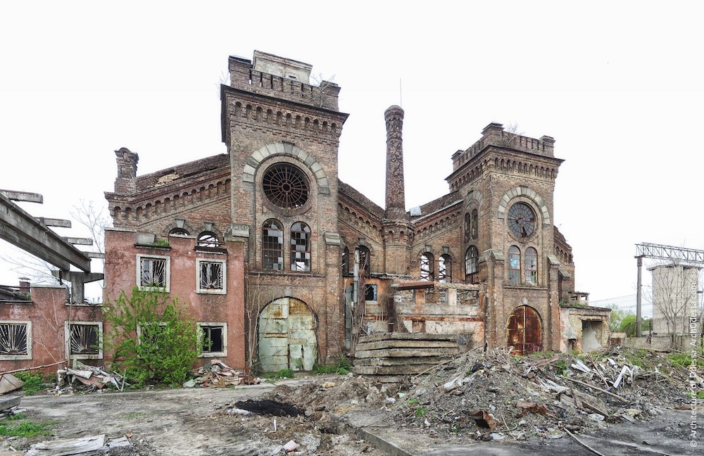 Загальний вигляд з боку станції Одеса-Мала (з території заводу)